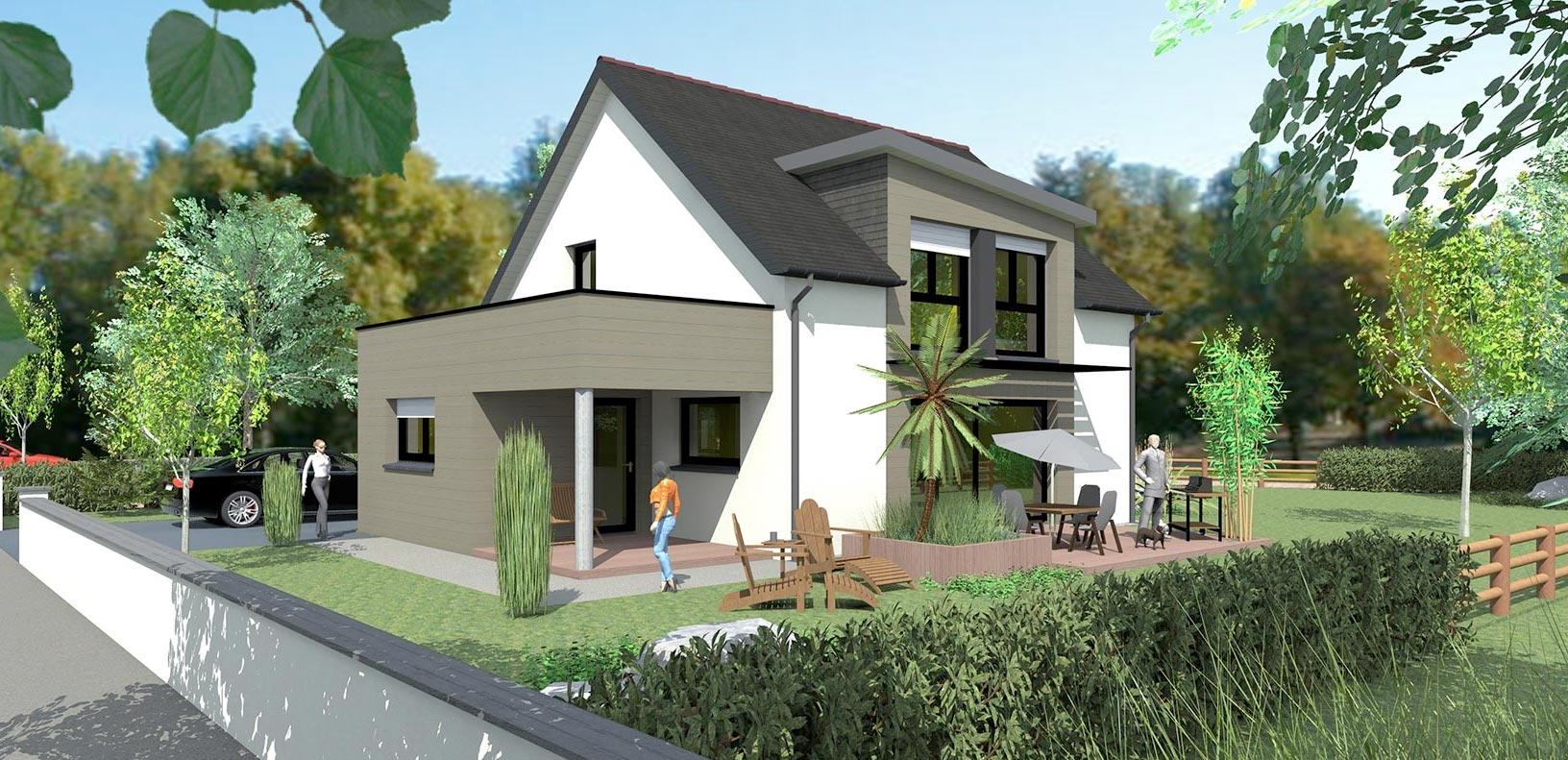 Maison passive gautier cr ations for Maison passive